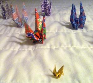 OrigamiGoldCrane