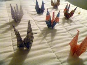 OrigamiJapaneseCranes