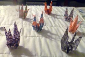 OrigamiPaperFoldCranes