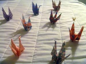 OrigamiRedCranes