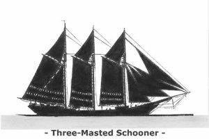 ThreeMastedSchooner