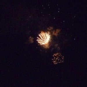 HuronFireworksIntheAir