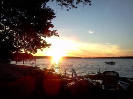 SunsetLakeMacatawaMichigan