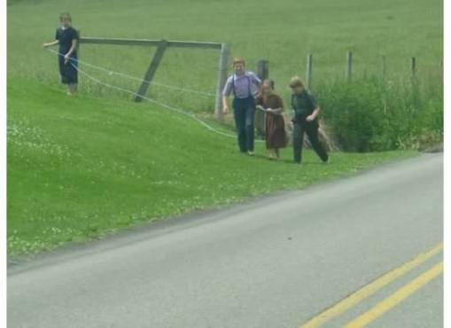 AmishChildrenPlaying